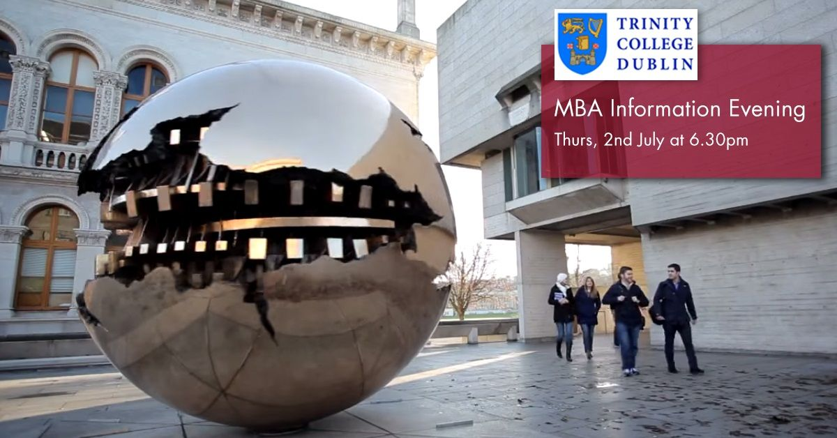 Trinity MBA Information Evening